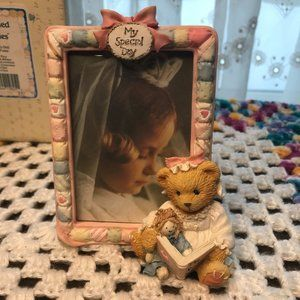 FIRST COMMUNION - Cherished Teddies (Girl) Frame